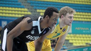 Лучшие моменты матча Единая лига ВТБ: «Астана» — «Нижний Новгород»