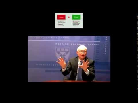 Strategy - Professor Michael Porter of Harvard University's School of Business discusses competitive strategy and the role it can play in solving the world's challenges...