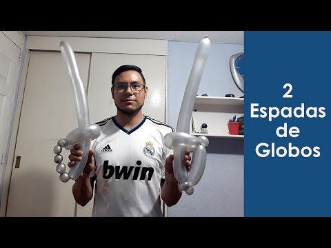 Modelos de uñas - espadas de globos