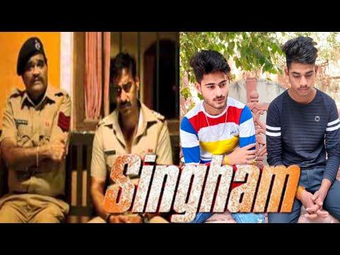 Singham (2011) Ajay Devgan | Singham Movie Spoof | Vp film