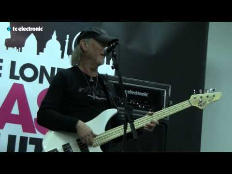 Roger Glover is doing a masterclass where he talks about his style of playing, Deep Purple, Rainbow and his musical history.  Roger Glover artist story: http://www.tcelectronic.com/roger-glover/