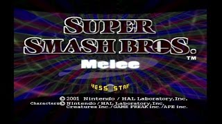 """Super Smash Brothers Mele"" – A man's excitement about finding Melee plays some Adventure mode (found at 15 views)"