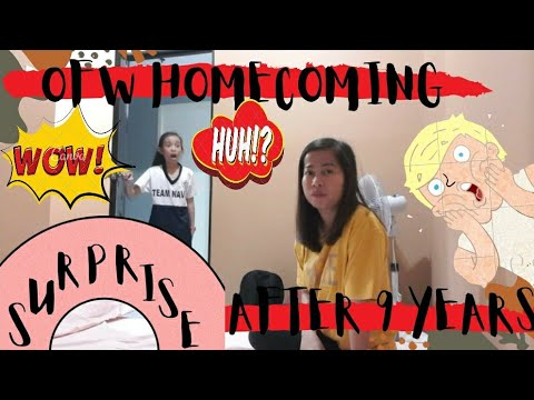 OFW Homecoming | Surprising my Daughter After 9 Years LDR | Back Home for Good