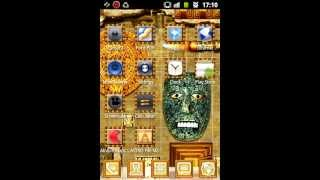 Go Launcher EX Aztec Theme YouTube video