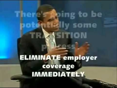 obama master plan on health careover the years in his own words–SINGLE PAYER!!!