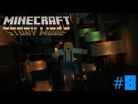 Minecraft Story Mode Episode 3 PART 1 | DOWN THE GRINDER