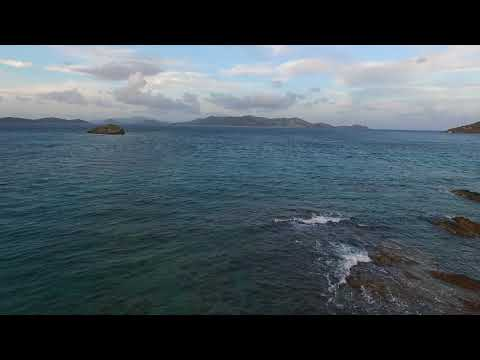 Sapphire Beach Resort St Thomas - Stingray from a drone