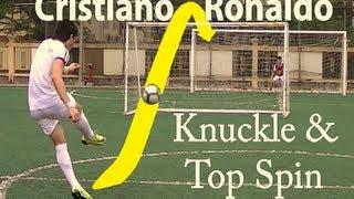 Como tirar las faltas como Cristiano Ronaldo