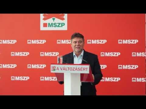 Matolcsy távozását követeli az MSZP az inflációs adat és a GDP-csökkenés miatt