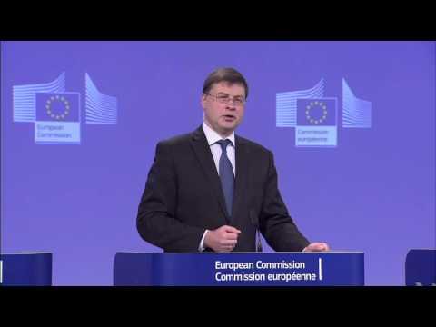 Nτομπρόβσκις: Είμαστε πολύ κοντά στην ολοκλήρωση της αξιολόγησης