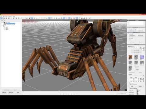 3DXchange 6 Tutorial - UI Enhancements