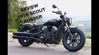 10. 2018 Indian Scout Bobber Ride Review