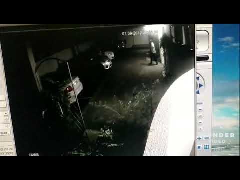 Bicicleta é  furtada em Palotina. Veja as imagens e ajuda a identificar.