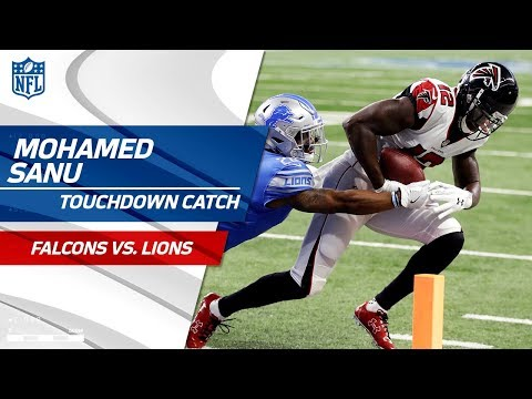 Video: Huge Plays by Gabriel & Freeman Set Up Sanu's Opening Drive TD! | Falcons vs. Lions | NFL Wk 3