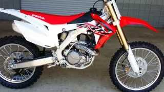 6. 2016 Honda CRF450R MX / SX Dirt Bike | Walk Around Video  (CRF450RG)