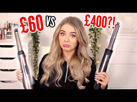 TESTING A DUPE FOR THE DYSON AIRWRAP?! £40 vs £400 Hair Tools..