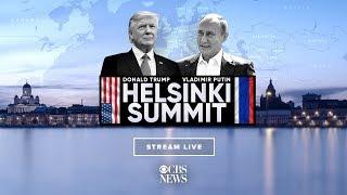 Coverage of Helsinki Summit as Vladimir Putin and Donald Trump hold historic meeting