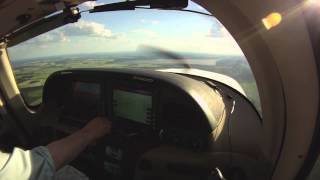 Cirrus Flight From Berlin To Braunschweig