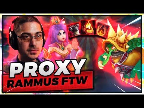 PROXY RAMMUS TOPLANE VS IRELIA!! | ROLLING TO VICTORY - Trick2G