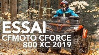 9. CFMOTO CFORCE 800 XC 2019 ESSAI
