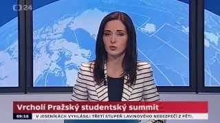 Vrcholí Pražský studentský summit