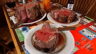 Prime rib lovers, it's time to open wide. Really, really wide. You've never seen a side of slow-roasted, juicy, tender, beef, like the...