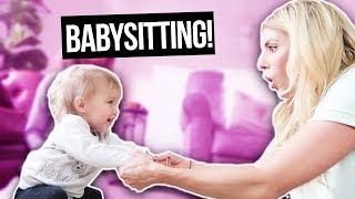 Video BABYSITTING THE CUTEST TWIN BABIES EVER!  TAYTUM & OAKLEY (DAY 318) MP3, 3GP, MP4, WEBM, AVI, FLV Juni 2018