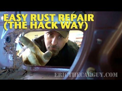Easy Rust Repair the 'Hack' Way -EricTheCarGuy