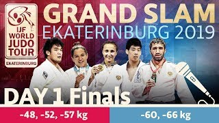 Judo Grand-Slam Ekaterinburg 2019: Day 1 - Final Block