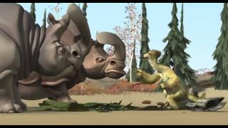 Video Ice Age 1 Sid and Rhino with Mammoth MP3, 3GP, MP4, WEBM, AVI, FLV Maret 2019