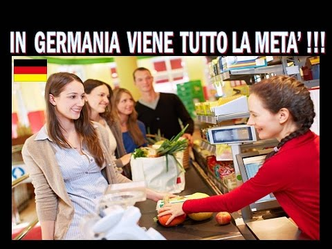 prezzi messi a confronto tra germania e italia