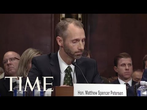 Trump Judicial Nominee Couldn't Answer Basic Questions About The Law   TIME