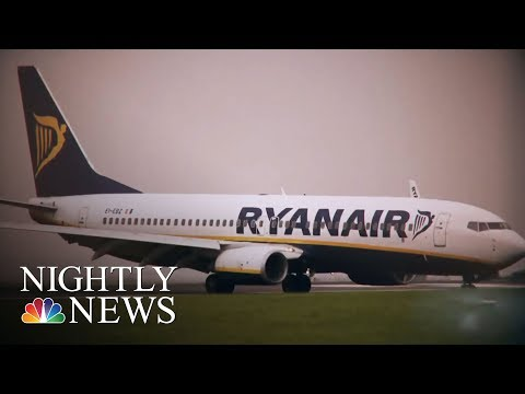 Passengers Outraged, Frightened After Pressure Drop Aboard Ryanair Flight | NBC Nightly News