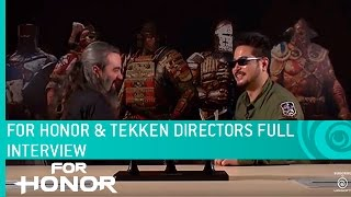 For Honor – Tekken's Katsuhiro Harada 1 on 1 with Jason Vandenberghe (Full Interview) by Ubisoft