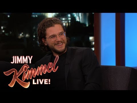Jimmy Kimmel Grills Kit Harington for Game of Thrones