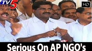 Government Serious On AP NGO's Strike  - TV5