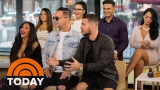 Video The Entire Cast Of 'Jersey Shore' Plays 'Shore-Ades' On TODAY | TODAY MP3, 3GP, MP4, WEBM, AVI, FLV Desember 2018
