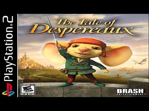 The Tale of Despereaux - Story 100% - Full Game Walkthrough / Longplay (PS2) 1080p 60fps
