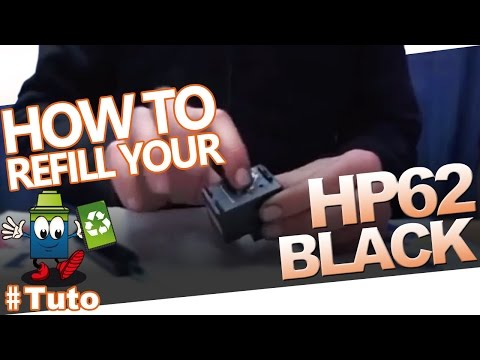 62 HP62 Black Cartridge : How To Refill The Cartridge