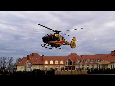 Wideo1: Lądowanie śmigłowca LPR w Kłodzie