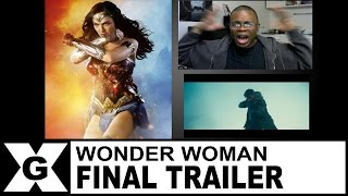 Video Wonder Woman | Final Trailer [REACTION] MP3, 3GP, MP4, WEBM, AVI, FLV Mei 2017