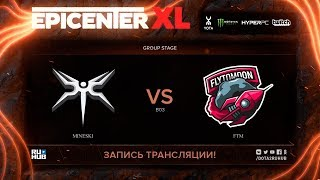 Mineski vs FTM, EPICENTER XL, game 3 [Maelstorm, Jam]