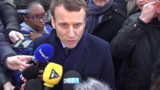 Video Emmanuel Macron à Hellemmes : visite d'une école MP3, 3GP, MP4, WEBM, AVI, FLV Agustus 2017