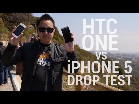HTC與iPHONE硬度大PK,從1:15開始看