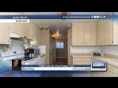 1408 Luke St  Fort Collins, CO Homes for Sale | coloradohomes.com