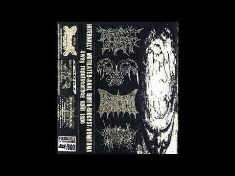 Internally Mutilated / Anal Birth / Biocyst / Vomitoma \u200e– 4-Way Repulseorhea (full split) (видео)