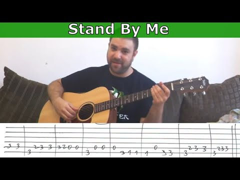 Fingerstyle Tutorial: Stand By Me – w/ TAB (Guitar Lesson)