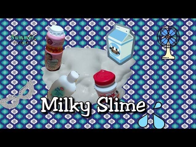 Cara Membuat Milky Slime | SenzoMusic.com