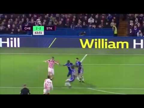 Chelsea 4-2 Stoke City | Latest Football Highlights Januari 2017