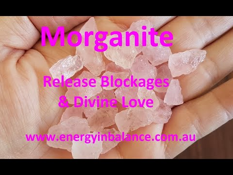 Crystal Watch -  Morganite Healing properties and uses info video